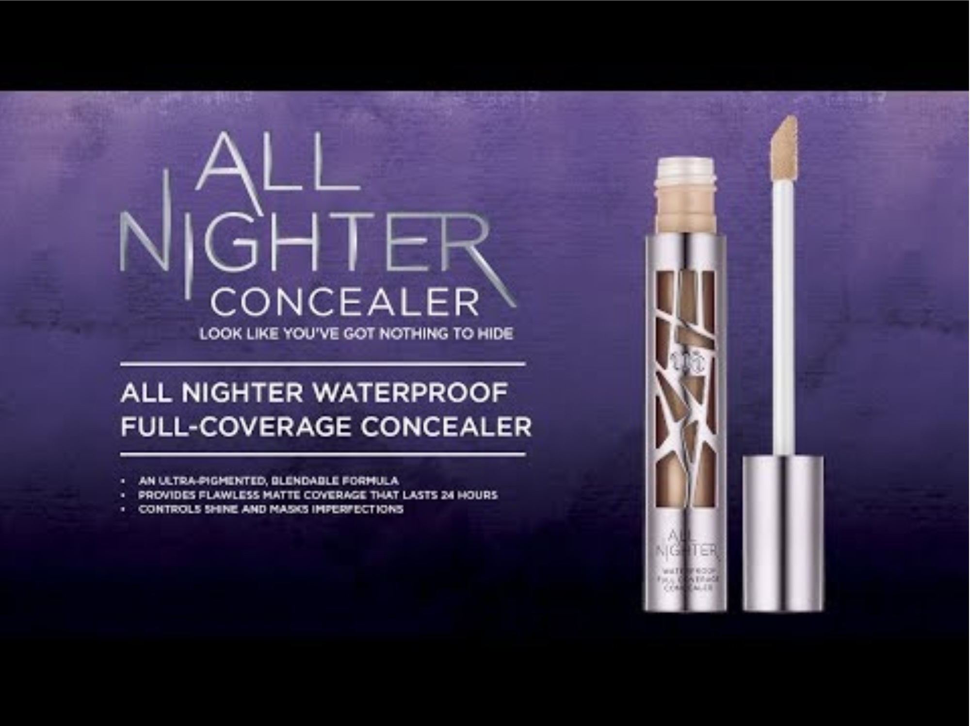 Urban Decay, All Night Concealer video