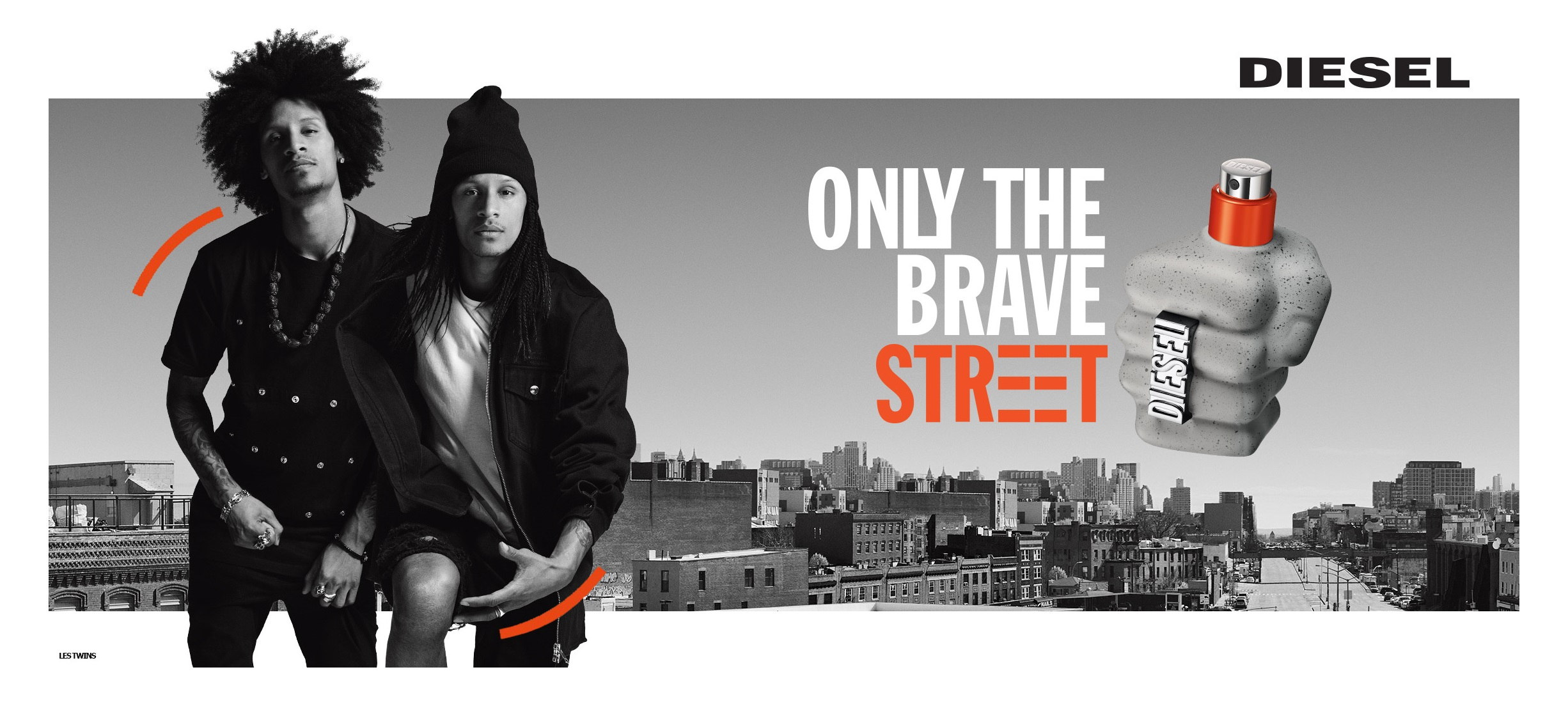 Diesel, only the brave street, parfume