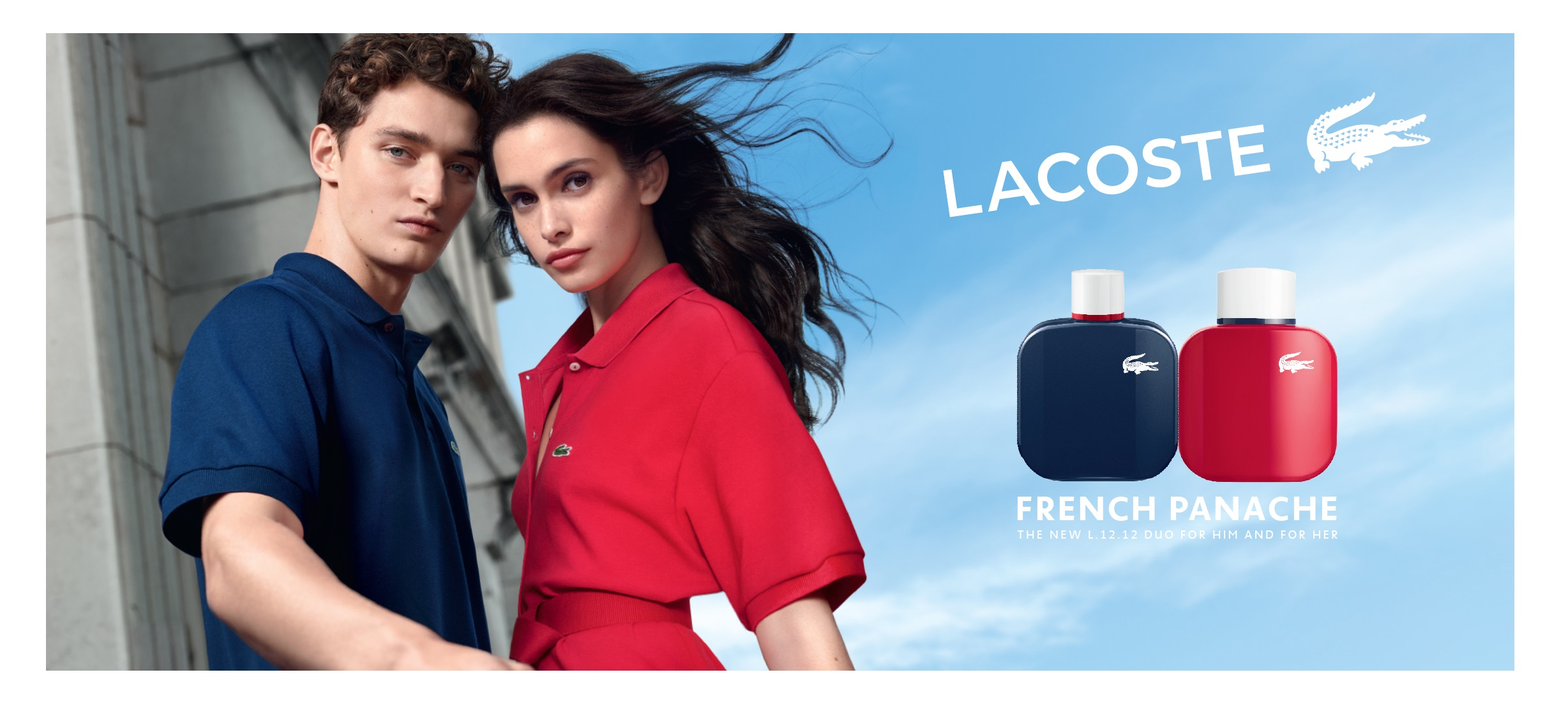 Lacoste, French Panache, parfume