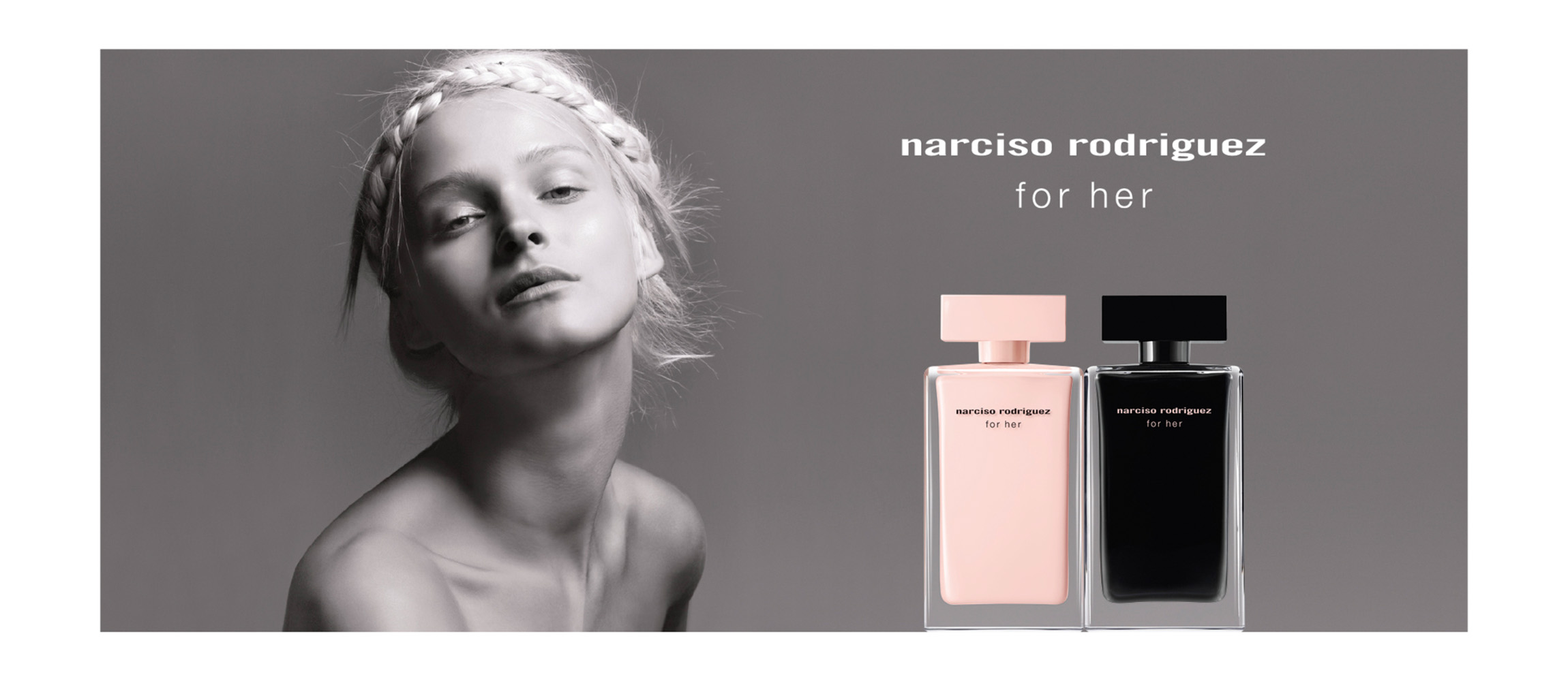 Narciso Rodriguez, for her, perfume
